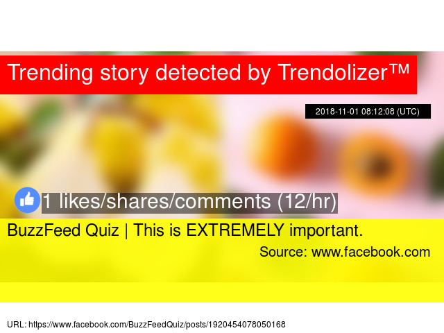 BuzzFeed Quiz | How well do you remember all of the