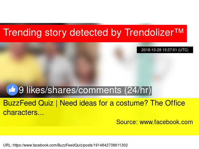 BuzzFeed Quiz | Need ideas for a costume? The Office