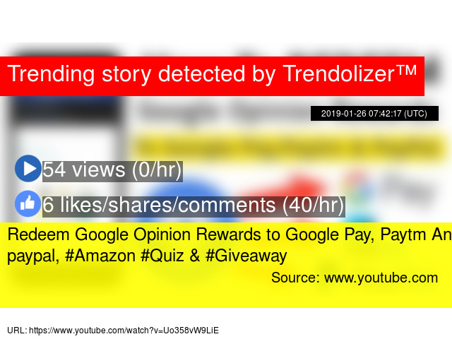 Redeem Google Opinion Rewards to Google Pay, Paytm And paypal