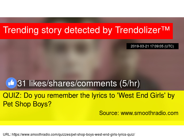 QUIZ: Do you remember the lyrics to '