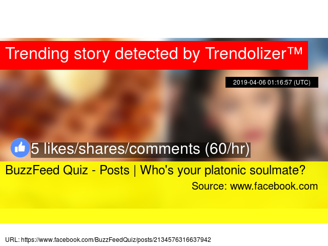 BuzzFeed Quiz - Posts | Who's your platonic soulmate?