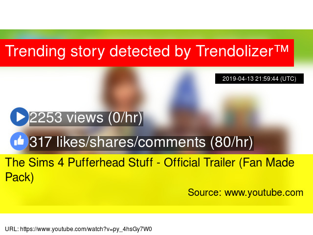 The Sims 4 Pufferhead Stuff - Official Trailer (Fan Made Pack)