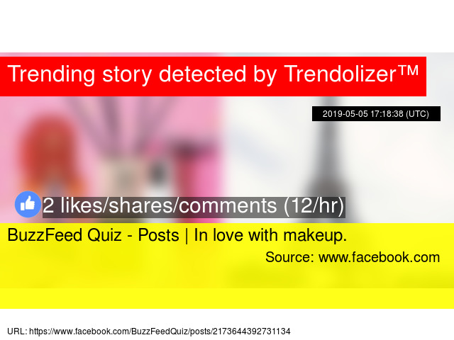 BuzzFeed Quiz - Posts | In love with makeup
