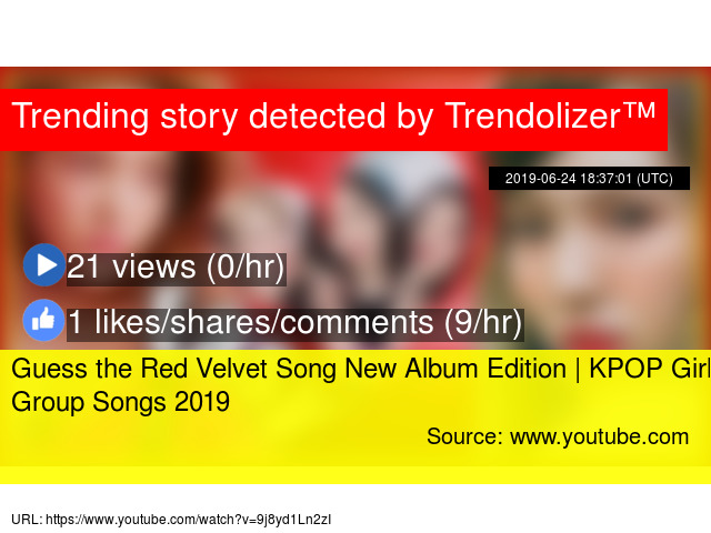 Guess the Red Velvet Song New Album Edition | KPOP Girl