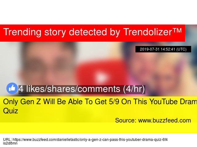 Only Gen Z Will Be Able To Get 5/9 On This YouTube Drama Quiz