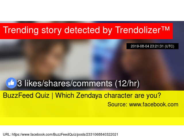 BuzzFeed Quiz | Which Zendaya character are you?
