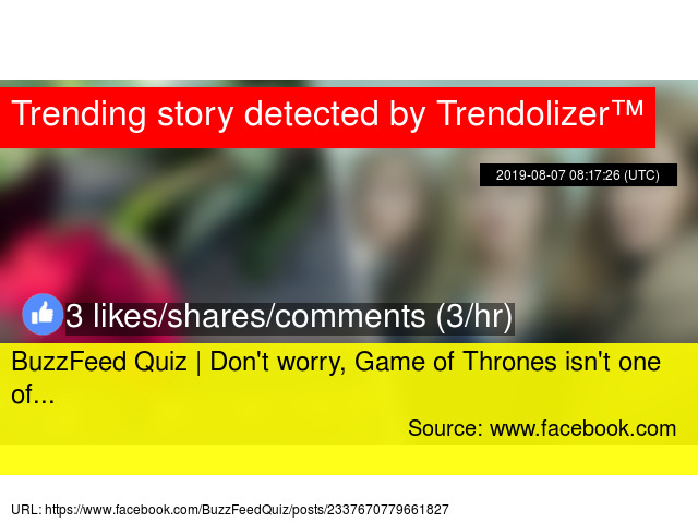 Buzzfeed game of thrones