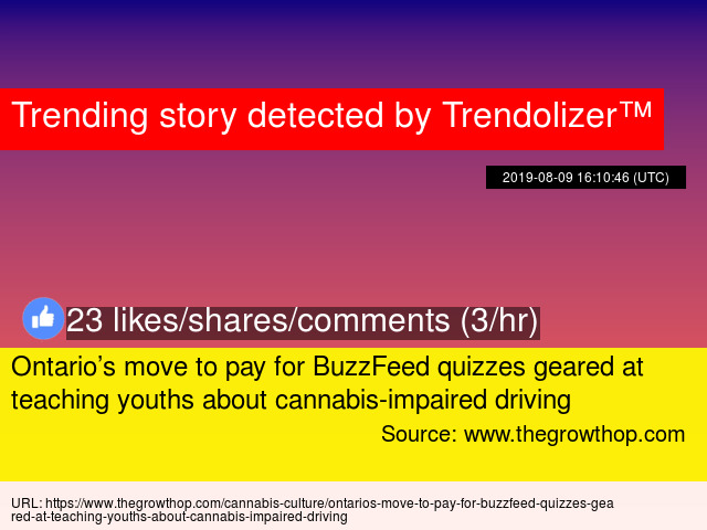 Ontario's move to pay for BuzzFeed quizzes geared at teaching youths