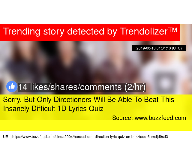 Sorry, But Only Directioners Will Be Able To Beat This