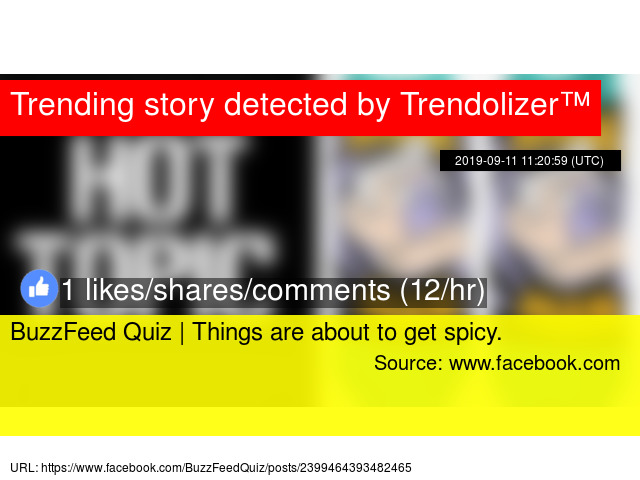 BuzzFeed Quiz | Things are about to get spicy