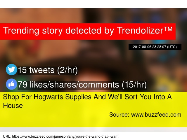 Shop For Hogwarts Supplies And We'