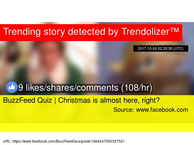 buzzfeed quiz christmas is almost here right