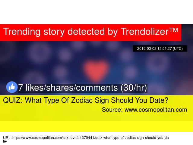 what sign should i date quiz