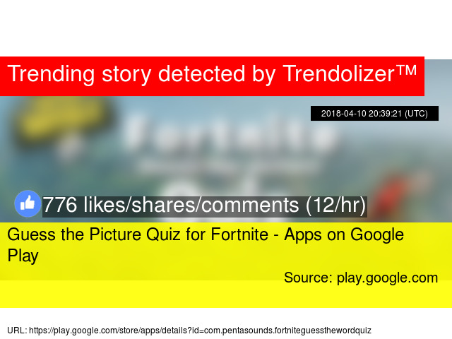 Guess the Picture Quiz for Fortnite - Apps on Google Play