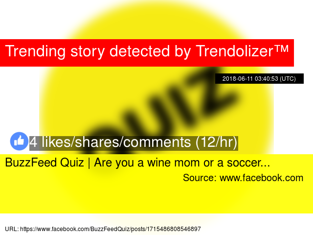 BuzzFeed Quiz   Are you a wine mom or a soccer