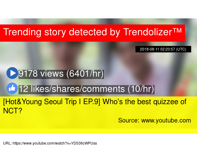 Hot&Young Seoul Trip I EP 9] Who's the best quizzee of NCT?