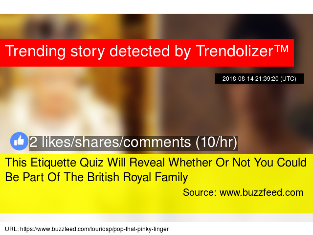 This Etiquette Quiz Will Reveal Whether Or Not You Could Be