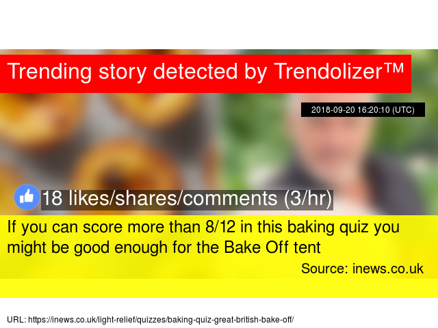 If you can score more than 8/12 in this baking quiz you
