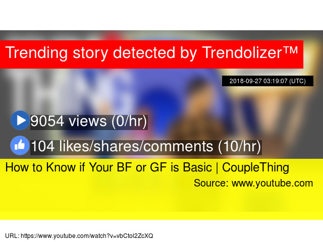 How to Know if Your BF or GF is Basic   CoupleThing