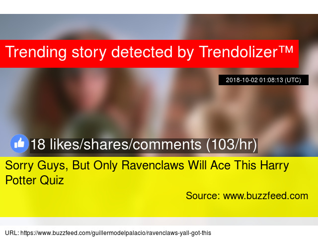 Sorry Guys, But Only Ravenclaws Will Ace This Harry Potter Quiz