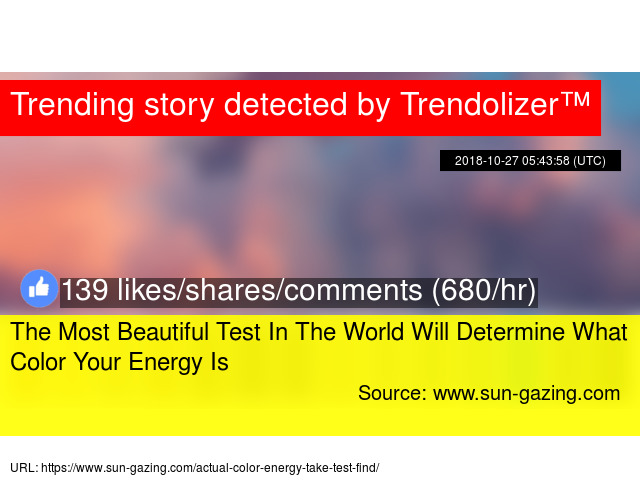 The Most Beautiful Test In The World Will Determine What Color Your